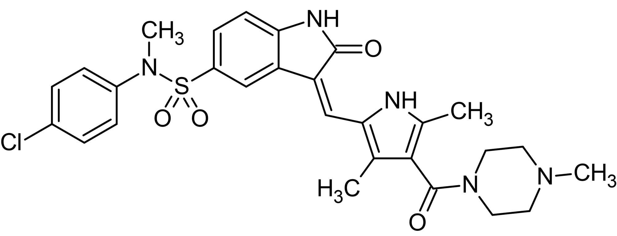 Chemical Structure - SU 11274, Met inhibitor (ab142159)