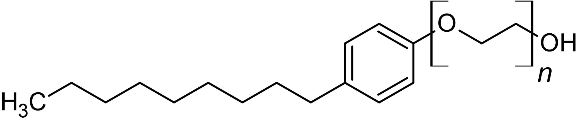 Chemical Structure - 10% NP-40, Detergent. 10% solution in water (ab142227)