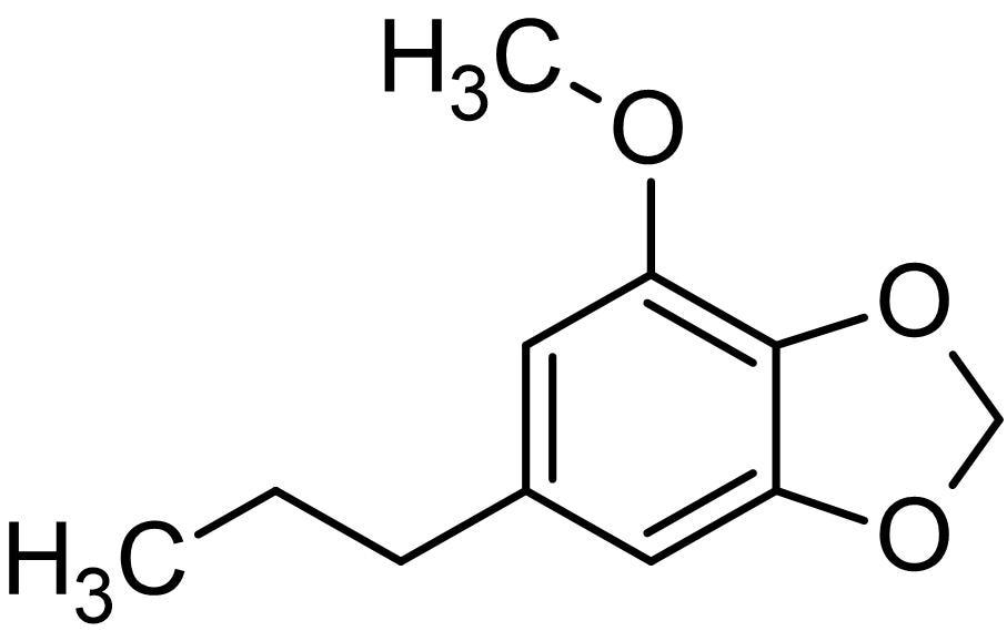 Chemical Structure - Dihydromyristicin, Glutathione S-transferase inducer (ab142290)