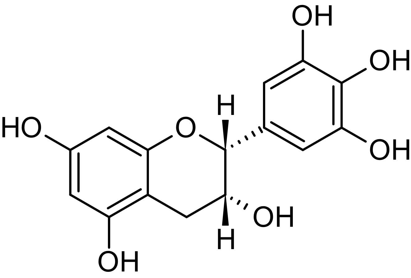 Chemical Structure - (-)-Epigallocatechin, Antioxidant activity (ab142378)
