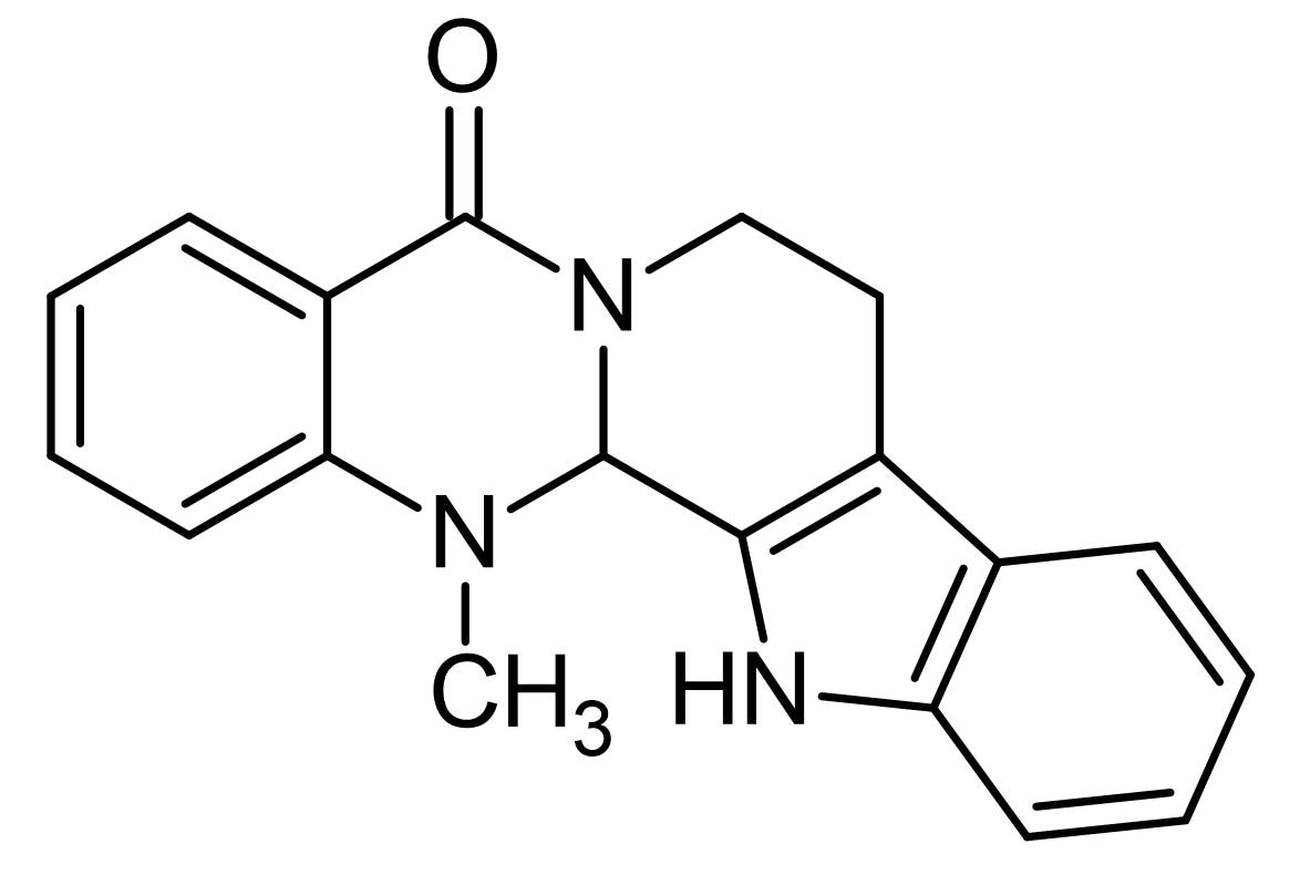 Chemical Structure - Evodiamine, TRPV1 agonist (ab142427)