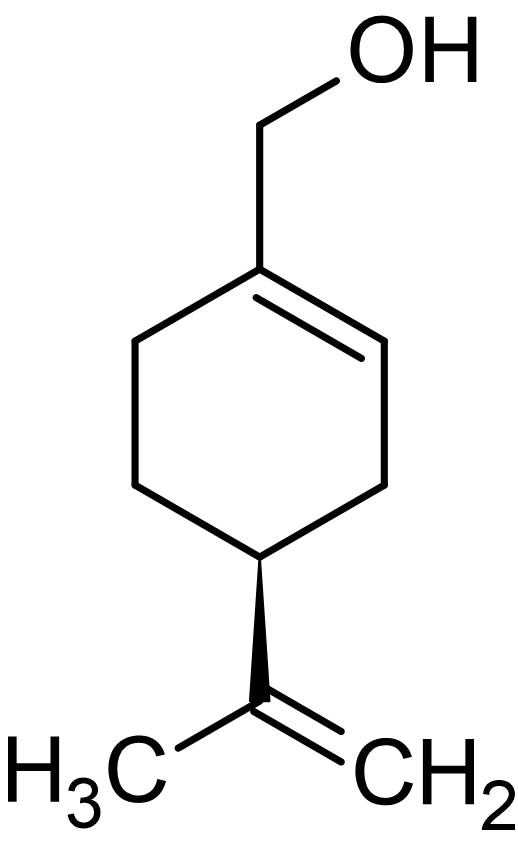 Chemical Structure - Perillyl alcohol, Natural monoterpene (ab142452)