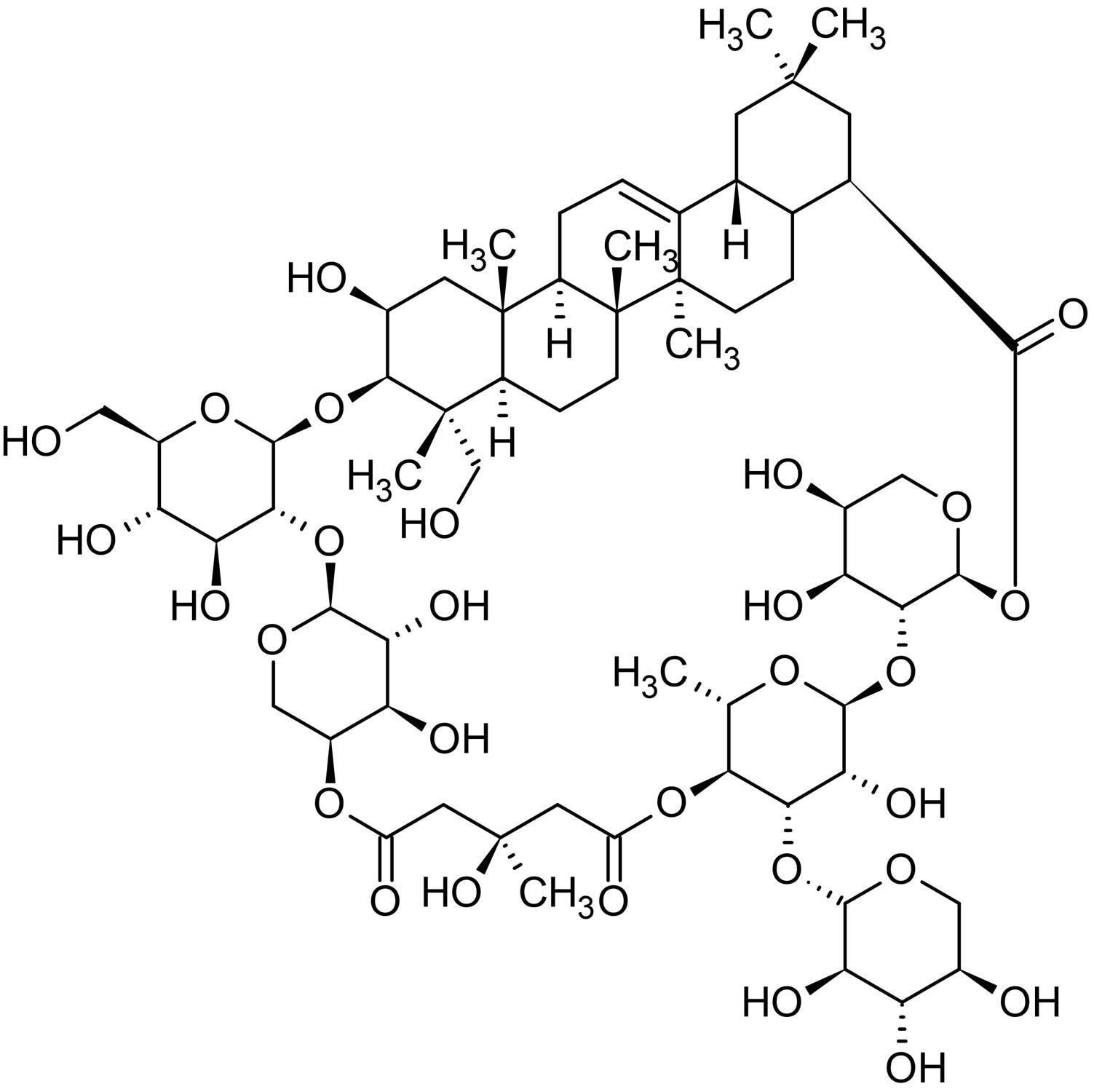 Chemical Structure - Tubeimoside I, anticancer activity (ab142470)