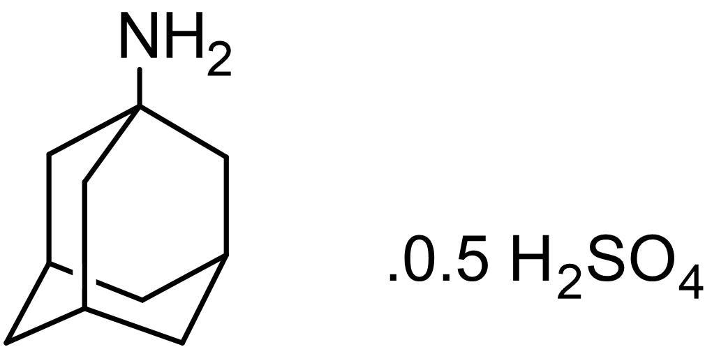 Chemical Structure - Amantadine sulfate, Dopaminergic agent (ab142478)