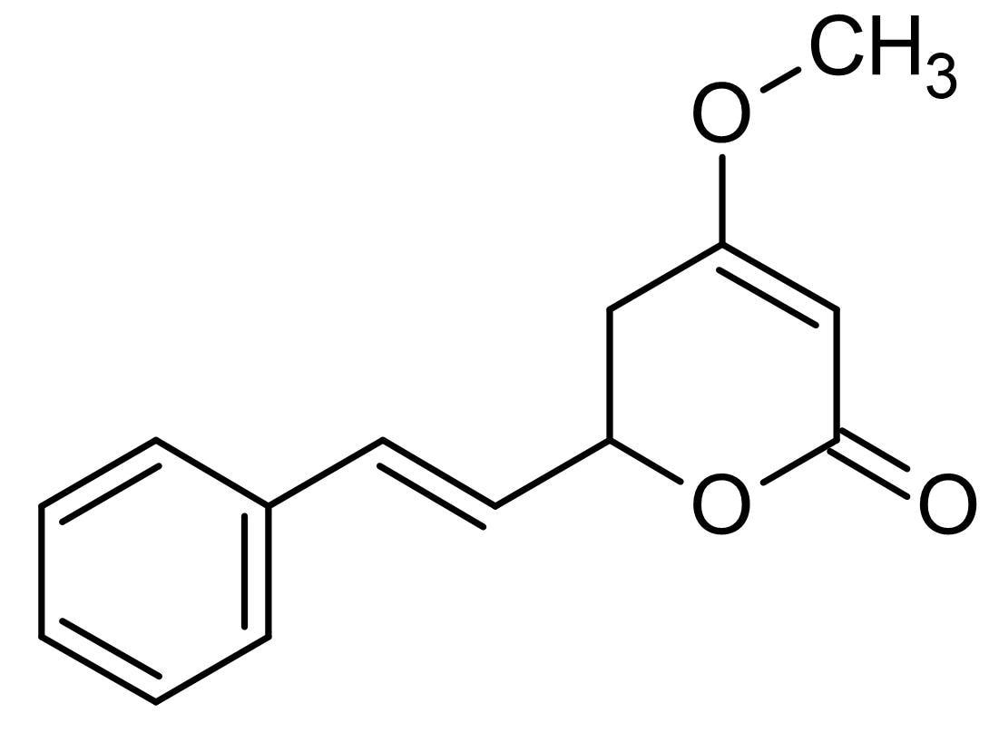 Chemical Structure - Kawain, Natural kavalactone (ab142525)