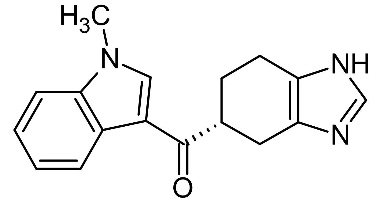 Chemical Structure - Ramosetron, 5-HT<sub>3</sub> receptor antagonist (ab142537)