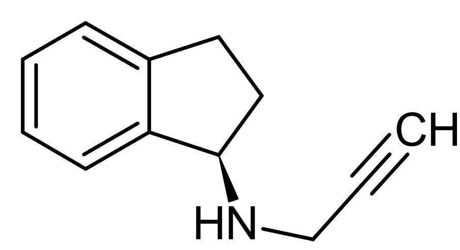 Chemical Structure - Rasagiline, MAO-B inhibitor (ab142538)