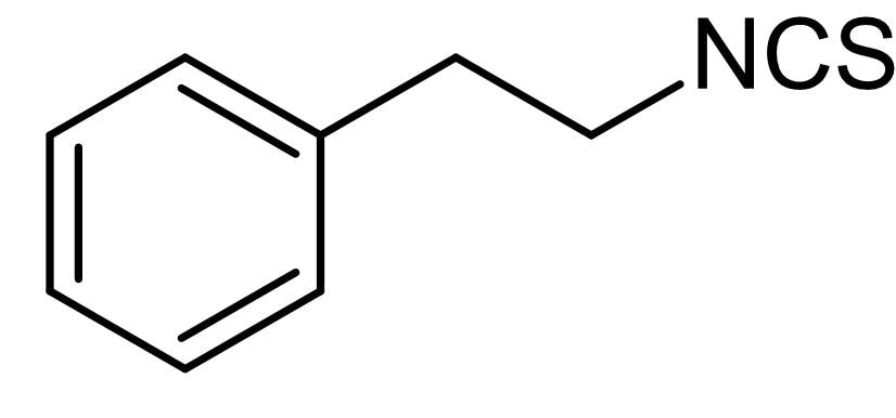 Chemical Structure - Phenethyl isothiocyanate, apoptosis inducer (ab142583)