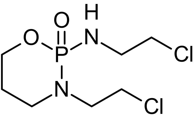 Chemical Structure - Ifosfamide, analogue of Cyclophosphamide (ab142614)