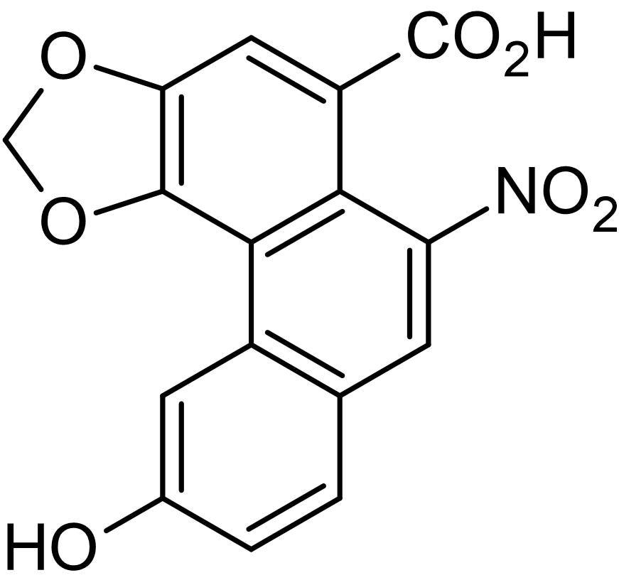 Chemical Structure - Aristolochic acid C, Aristolochic acid derivative (ab142620)