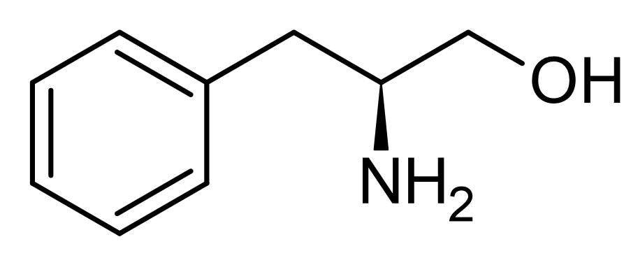 Chemical Structure - L-Phenylalaninol, Reduces gastric acid secretion (ab142678)