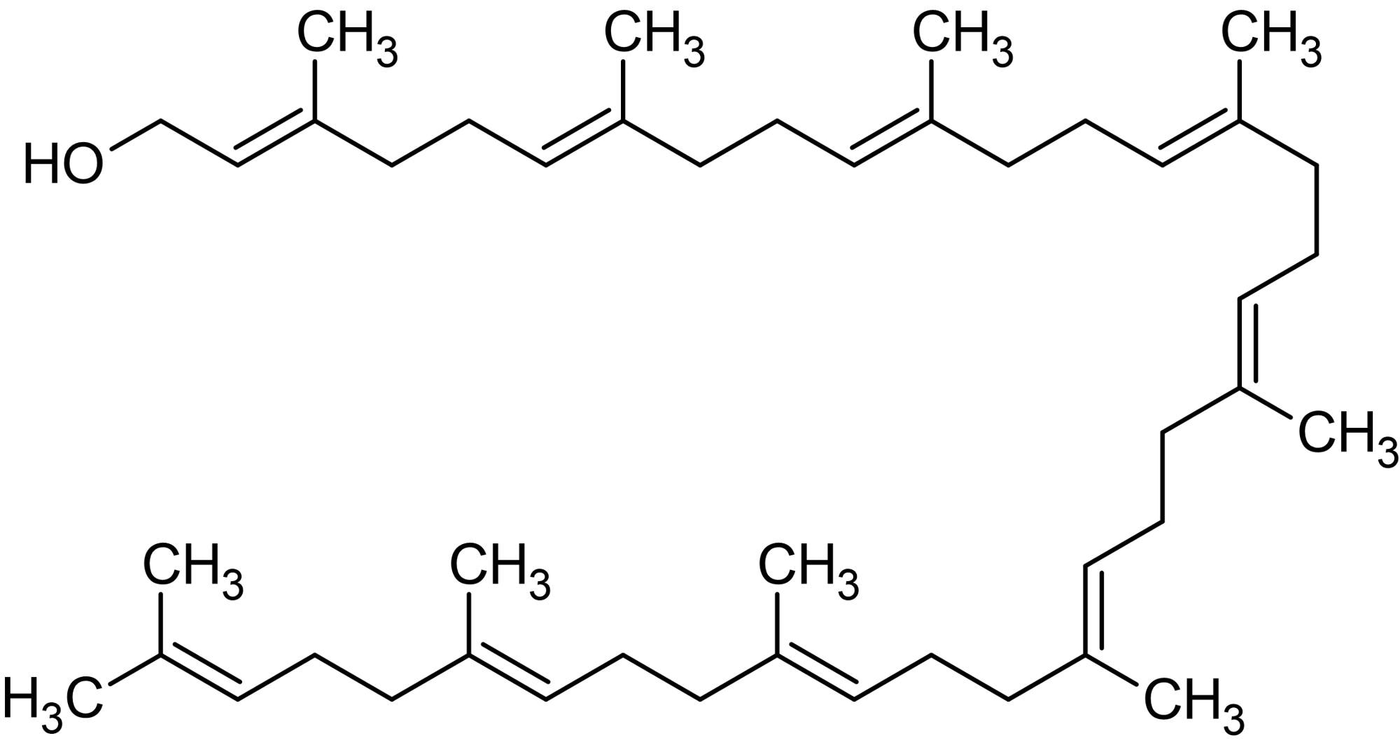 Chemical Structure - Solanesol, Phytochemical (ab142680)