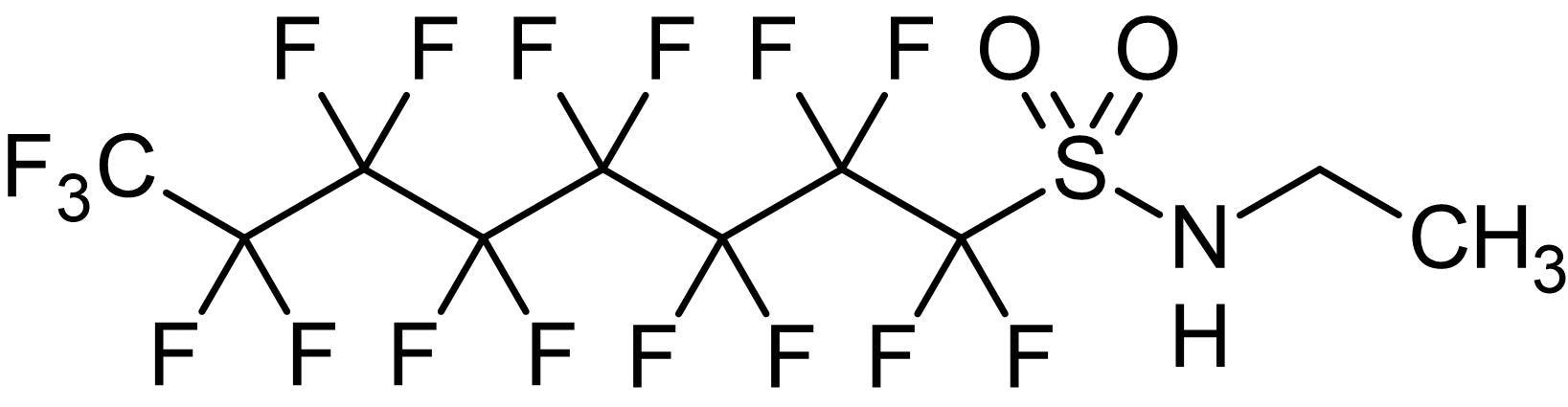 Chemical Structure - Sulfluramid, Perfluorinated pesticide (ab142699)