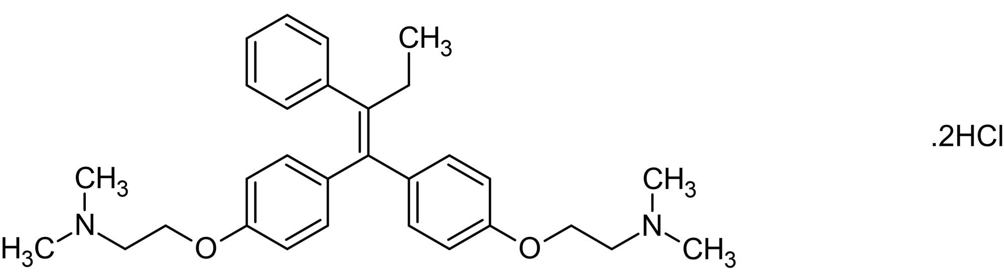 Chemical Structure - Ridaifen dihydrochloride, apoptosis inducer (ab142735)