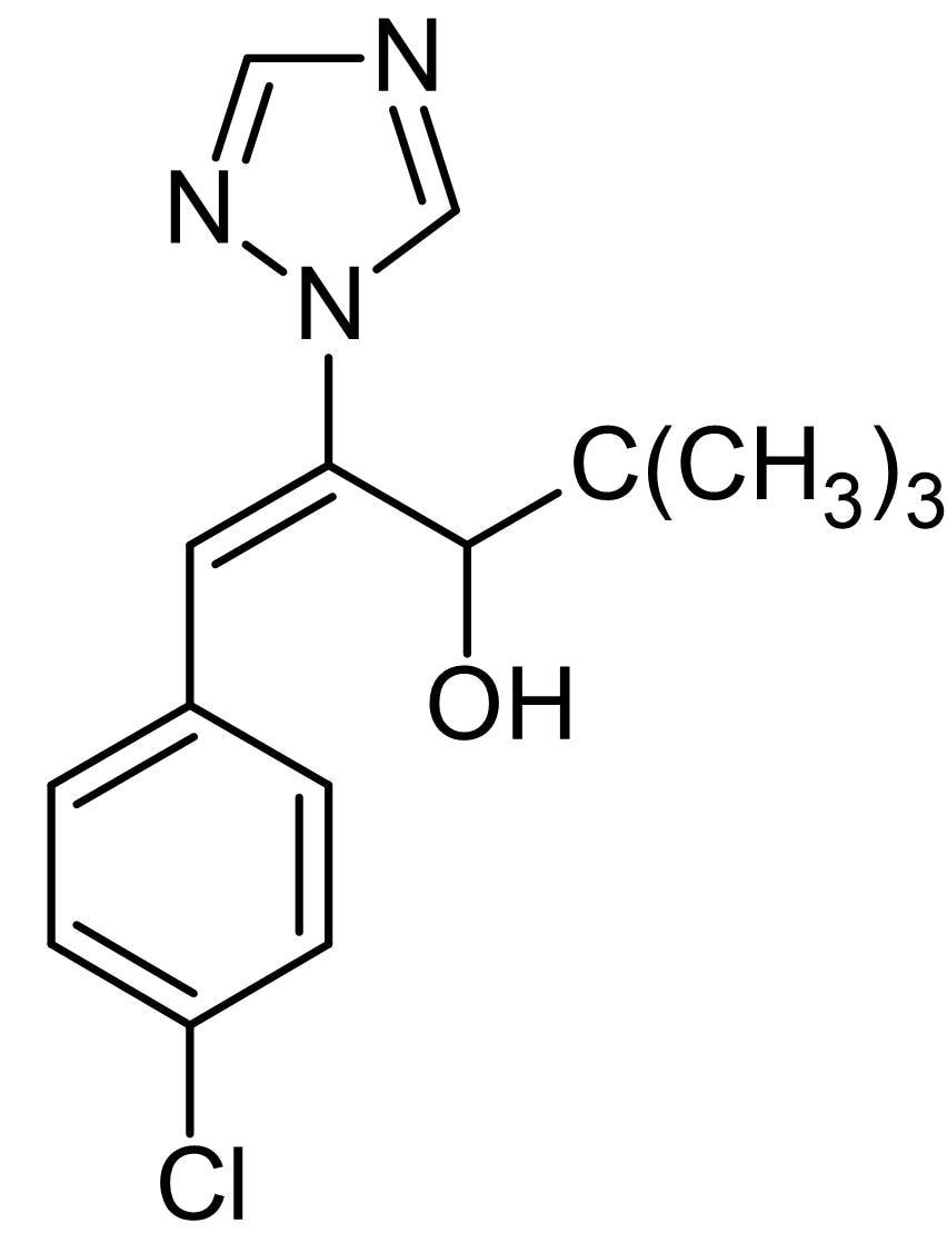 Chemical Structure - Uniconazole, Cytochrome P450 monooxygenase inhibitor (ab142737)