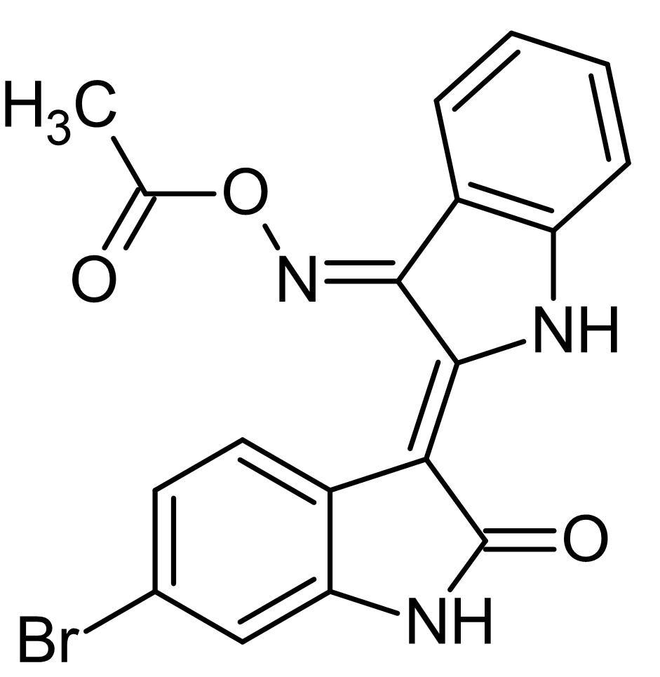 Chemical Structure - BIO-acetoxime, GSK-3alpha/beta inhibitor (ab142811)