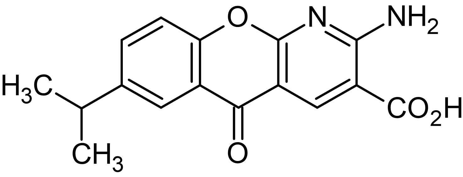 Chemical Structure - Amlexanox, TBK1 and IKKepsilon inhibitor (ab142825)