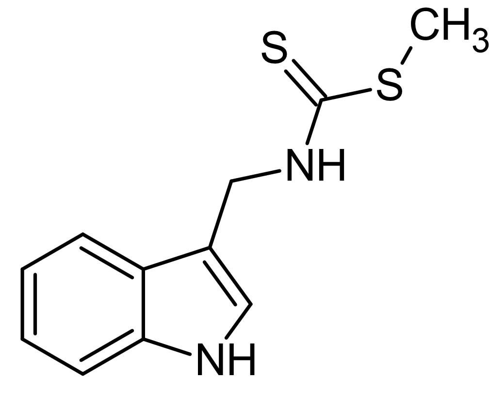 Chemical Structure - Brassinin, Inducer of phase II enzymes (ab142839)
