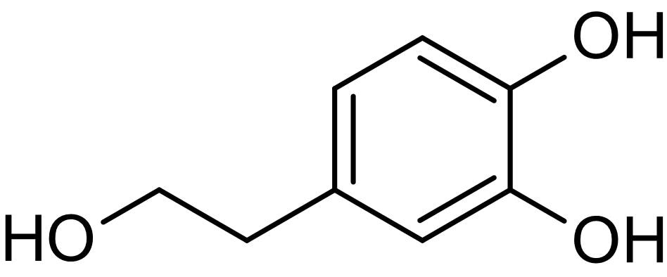 Chemical Structure - 3,4-Dihydroxyphenylethanol, Antioxidant agent (ab142863)