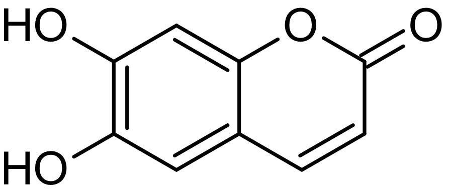 Chemical Structure - Esculetin, lipoxygenase inhibitor (ab142873)