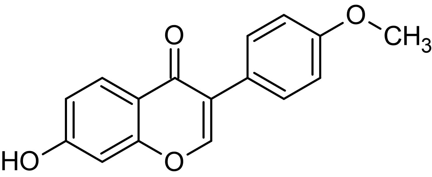 Chemical Structure - Formononetin, Testosterone 5alpha-reductase inhibitor (ab142878)