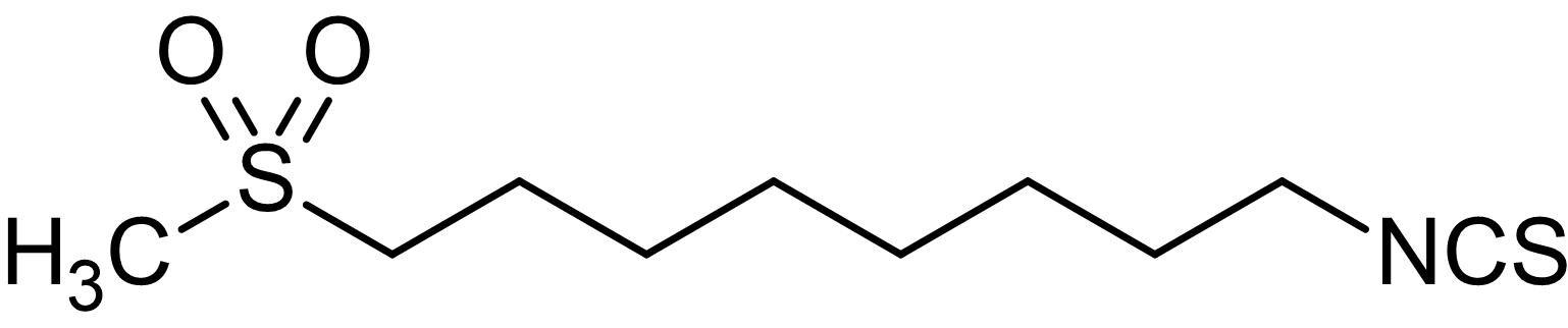 Chemical Structure - 1-Isothiocyanato-8-(methylsulfonyl)-octane, Erysolin analog (ab142902)