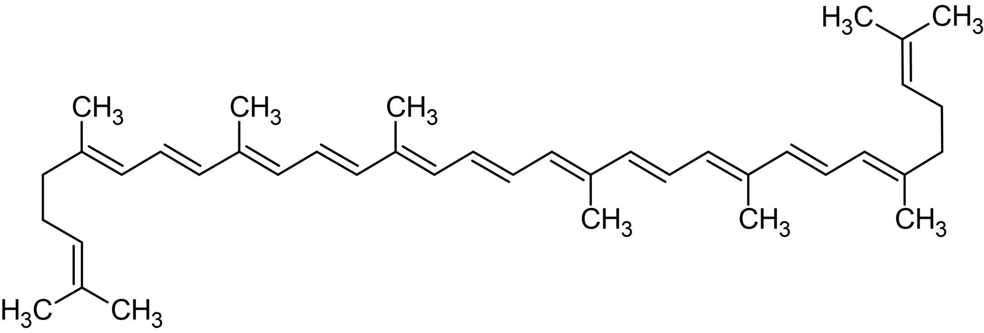 Chemical Structure - Lycopene, Antioxidant (ab142909)