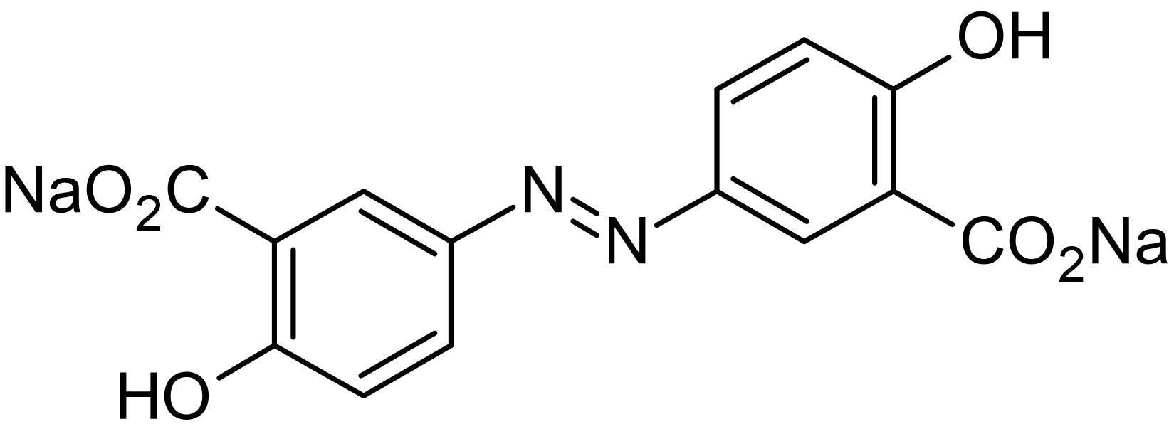 Chemical Structure - Olsalazine sodium, Anti-inflammatory agent (ab142929)