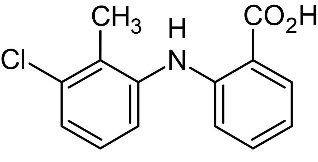 Chemical Structure - Tolfenamic acid, Non steroidal anti-inflammatory agent (ab142953)