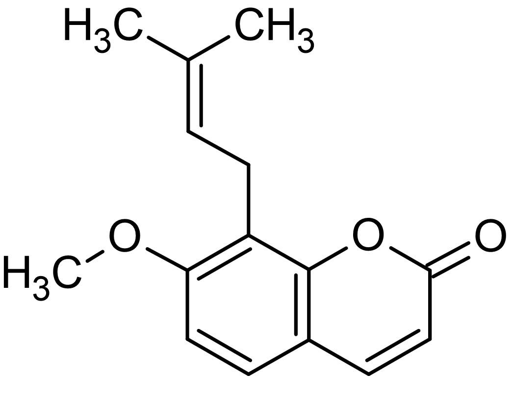 Chemical Structure - Osthole, anti-inflammatory and antitumor activities (ab143140)