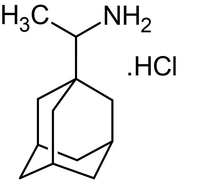 Chemical Structure - Rimantadine hydrochloride, M2 proton channel inhibitor (ab143448)