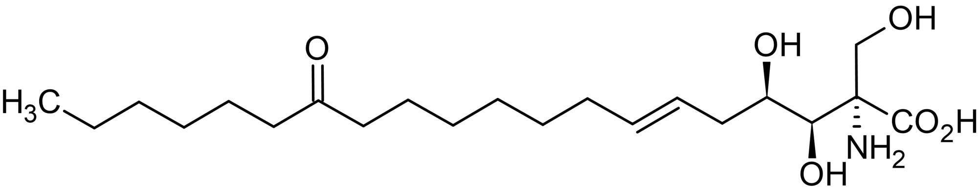 Chemical Structure - Myriocin (ISP-I), serine palmitoyltransferase inhibitor (ab143526)
