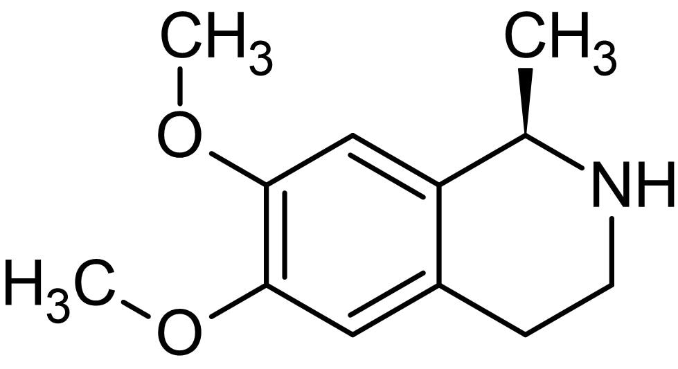 Chemical Structure - Salsolidine, MAO<sub>A&nbsp;</sub>inhibitor (ab143546)