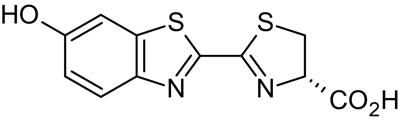 Chemical Structure - D-Luciferin, chemiluminescent luciferase substrate (ab143654)