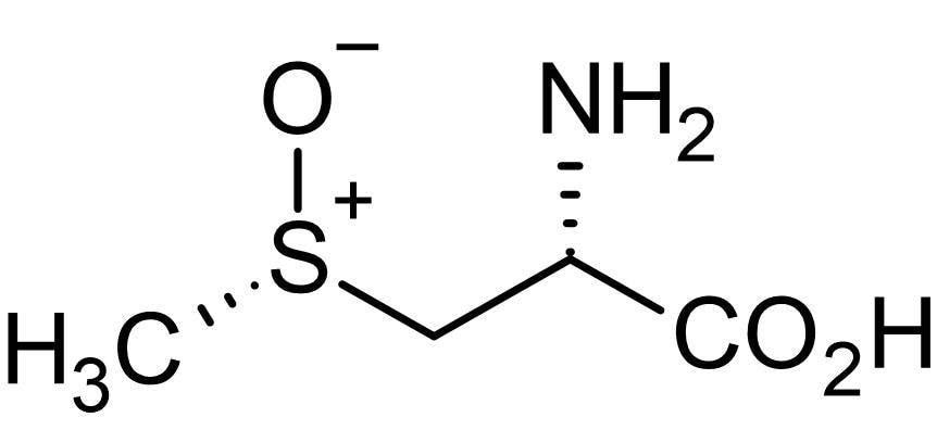 Chemical Structure - (+)-S-Methyl-L-cysteine-S-oxide (Methiin), Antioxidant agent (ab143662)