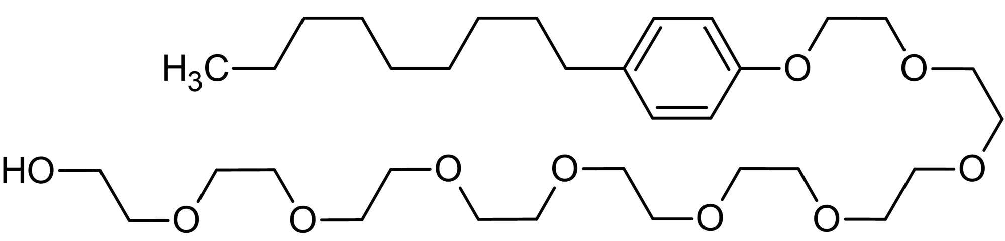 Chemical Structure - Nonoxynol-9 (N-9), Nonionic surfactant (ab143673)