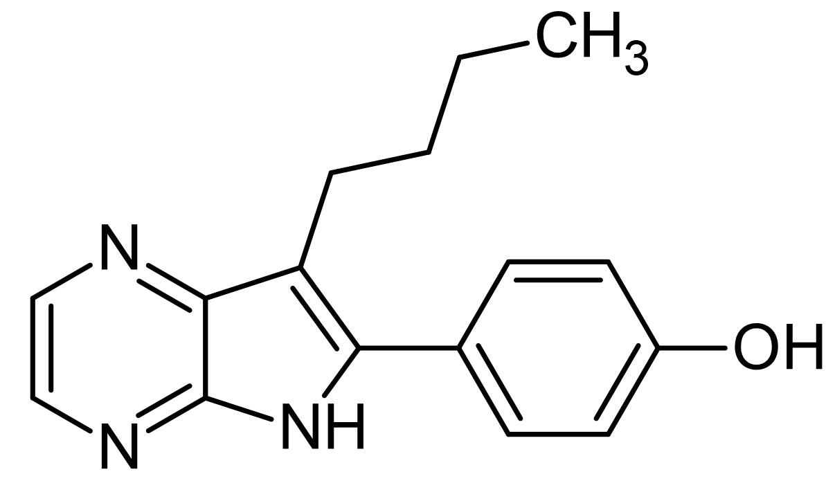 Chemical Structure - Aloisine A, CDK inhibitor (ab143750)