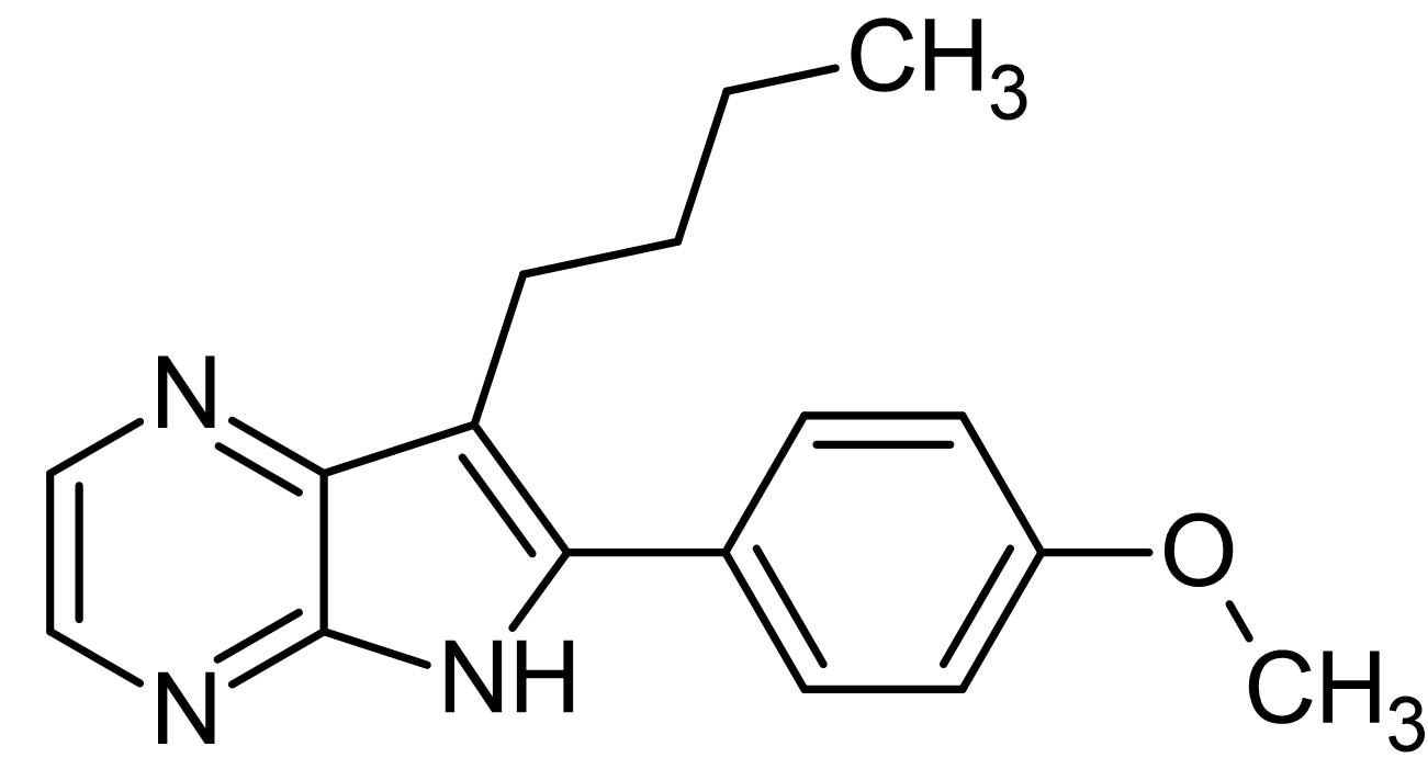 Chemical Structure - Aloisine, CDK and GSK-3 inhibitor (ab143751)