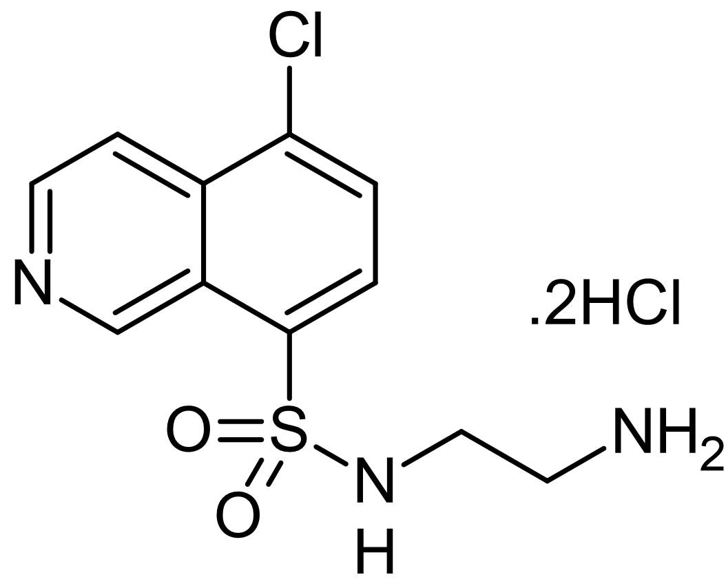Chemical Structure - CKI-7 dihydrochloride, Casein kinase 1 inhibitor (ab143760)
