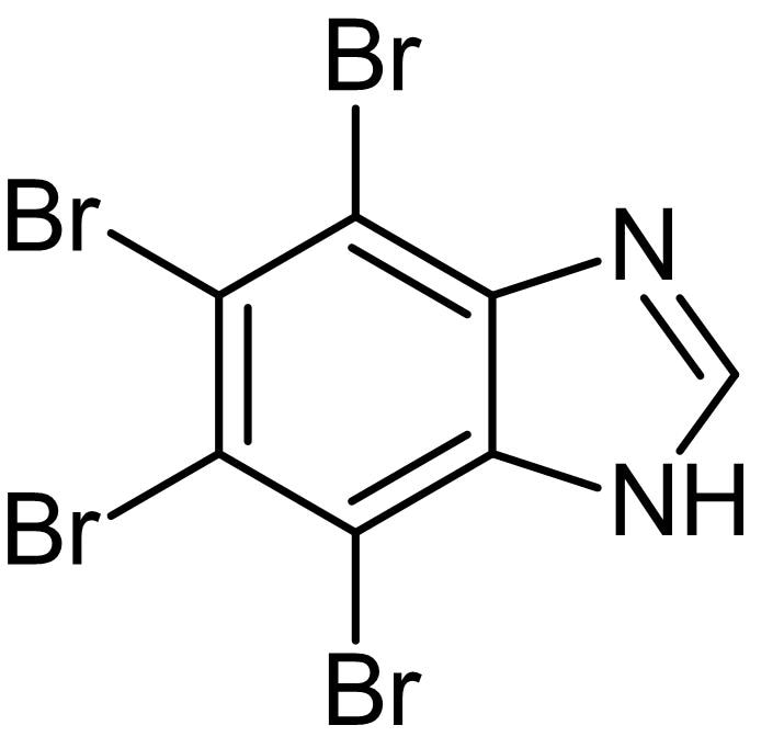 Chemical Structure - TBBz, protein kinase CK2 inhibitor (ab143860)