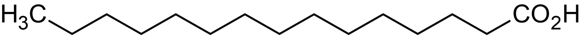 Chemical Structure - Pentadecanoic acid, saturated fatty acid (ab143869)