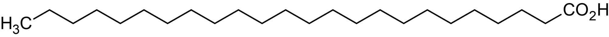 Chemical Structure - Tetracosanoic acid (Lignoceric acid), Long chain saturated fatty acid (ab143875)