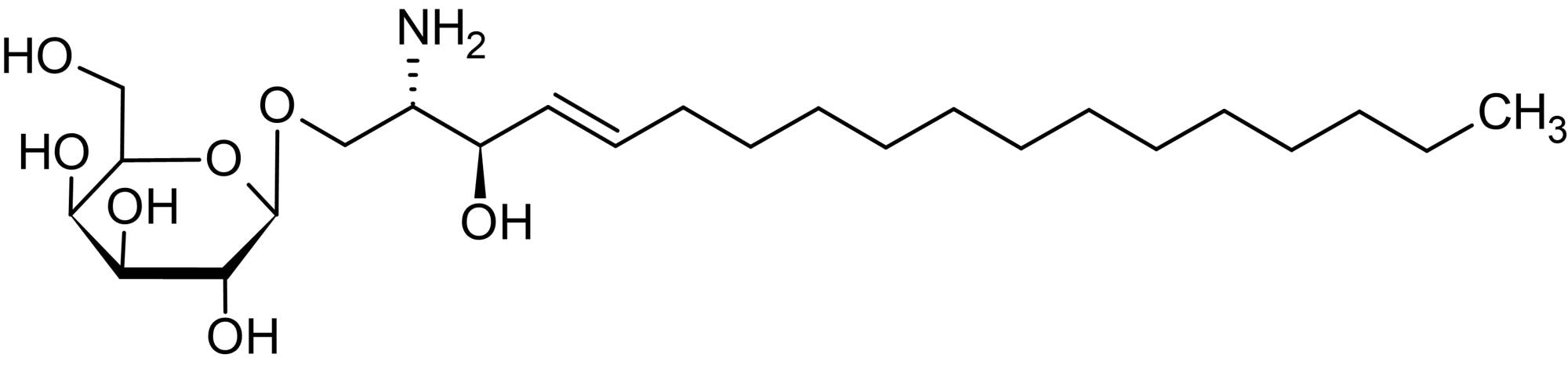 Chemical Structure - Psychosine (Galactosylsphingosine), Cationic lysosphingolipid (ab143930)
