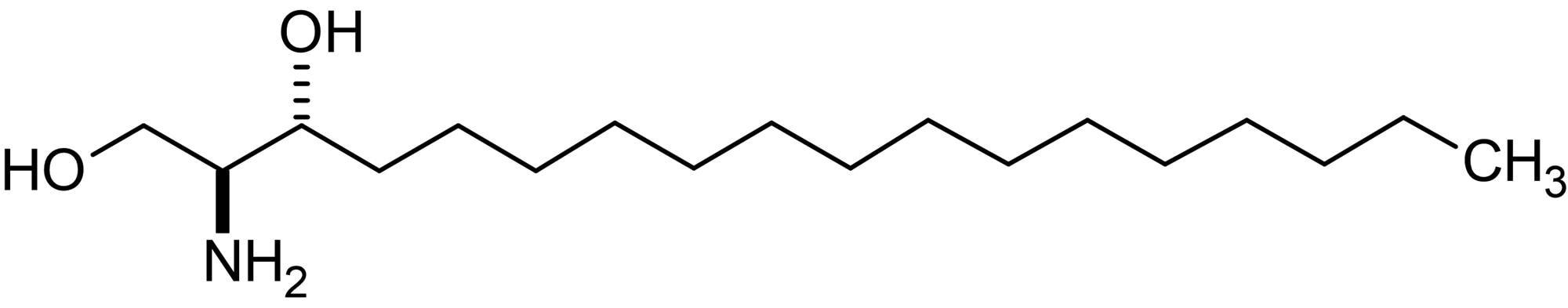 Chemical Structure - D,L-erythro-Dihydrosphingosine, sphingosine kinase inhibitor, PKC inhibitor (ab143936)