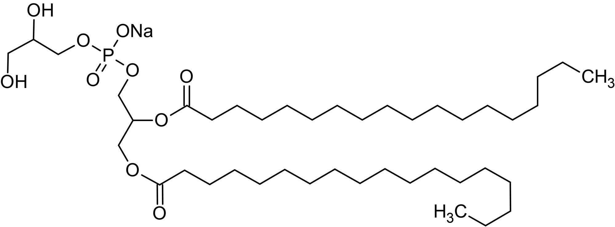 Chemical Structure - 1,2-Distearoyl-sn-glycero-3-phosphorylglycerol sodium salt (DSPG), Phosphorylglycerol (ab143954)