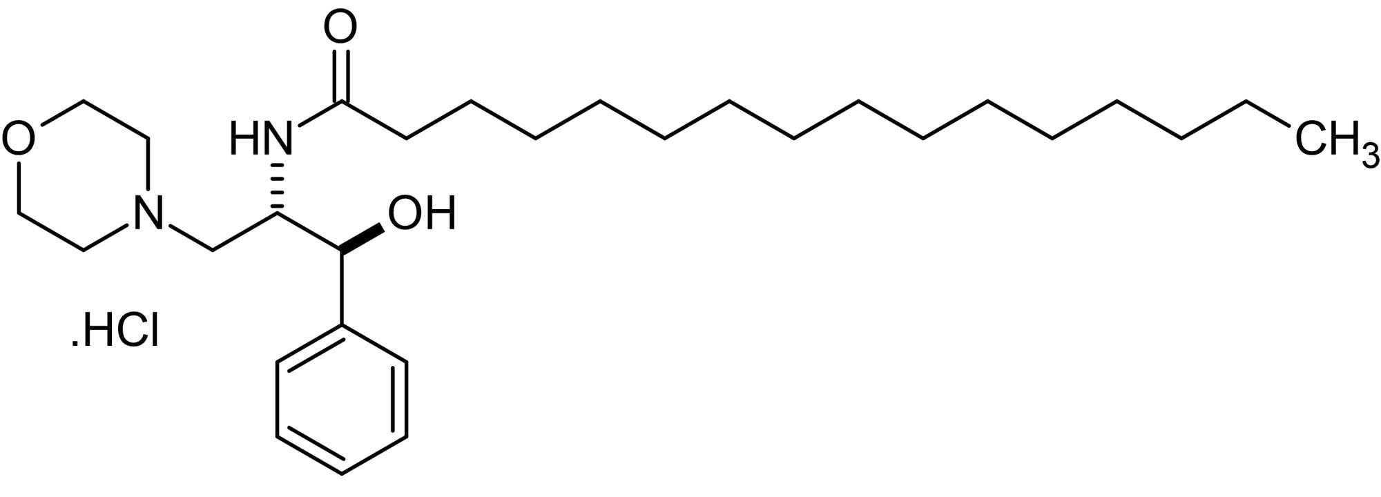 Chemical Structure - D,L-threo-PPMP, Glucosylceramide synthase inhibitor (ab144023)