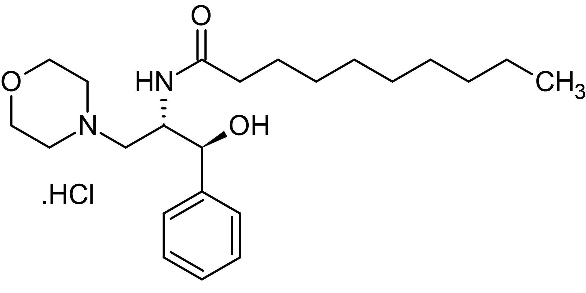 Chemical Structure - L-<em>threo</em>-PDMP (ab144046)