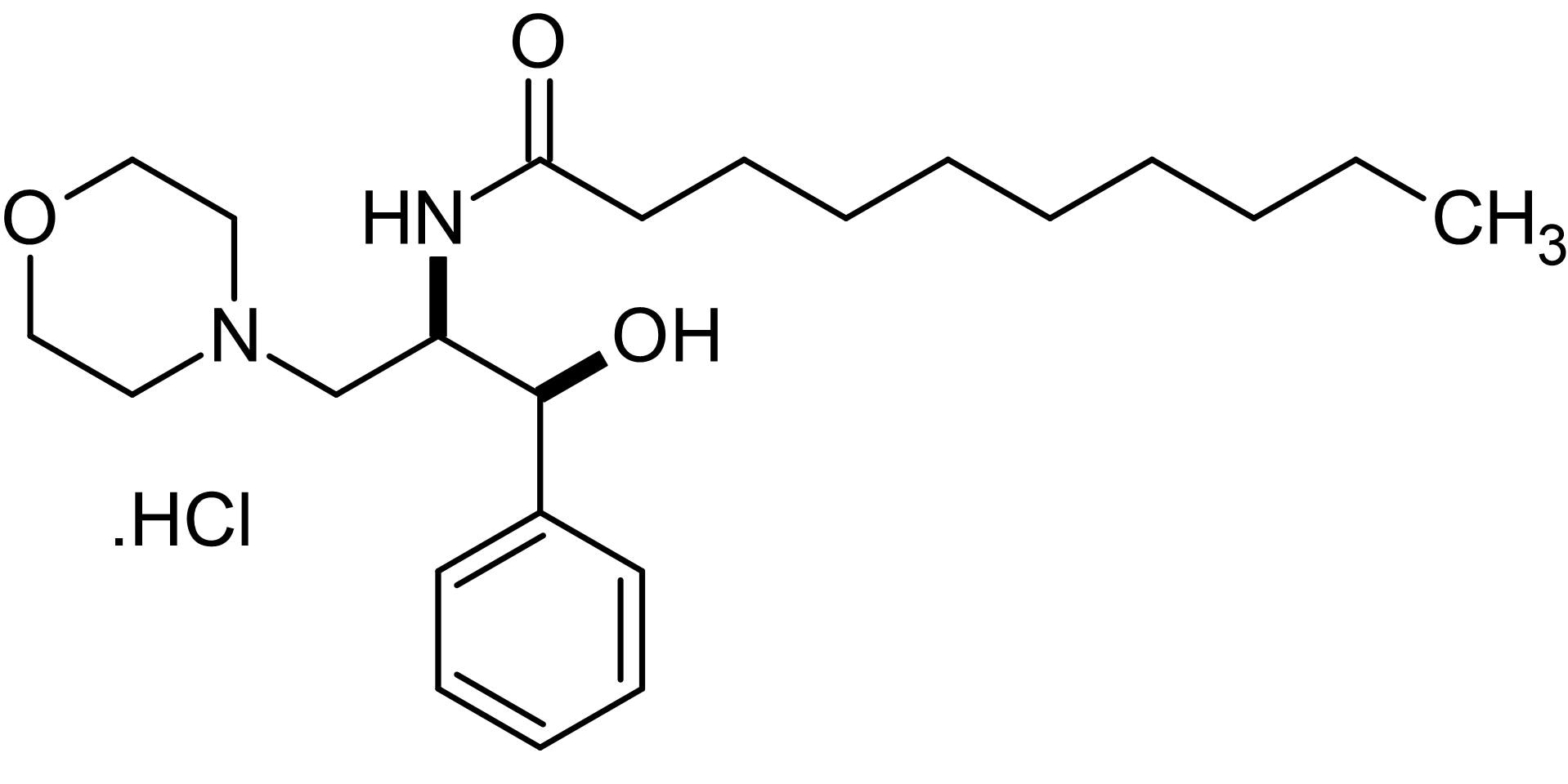 Chemical Structure - D,L-erythro-PDMP, glucosylceramide synthase inhibitor isomer (ab144051)