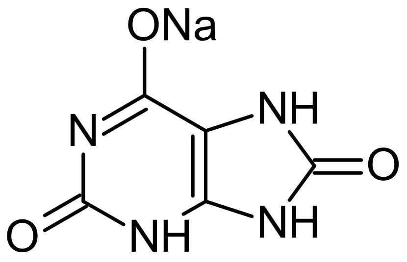 Chemical Structure - Monosodium urate (PBS solution), NLRP3/NALP3 inflammasome activator (ab144306)