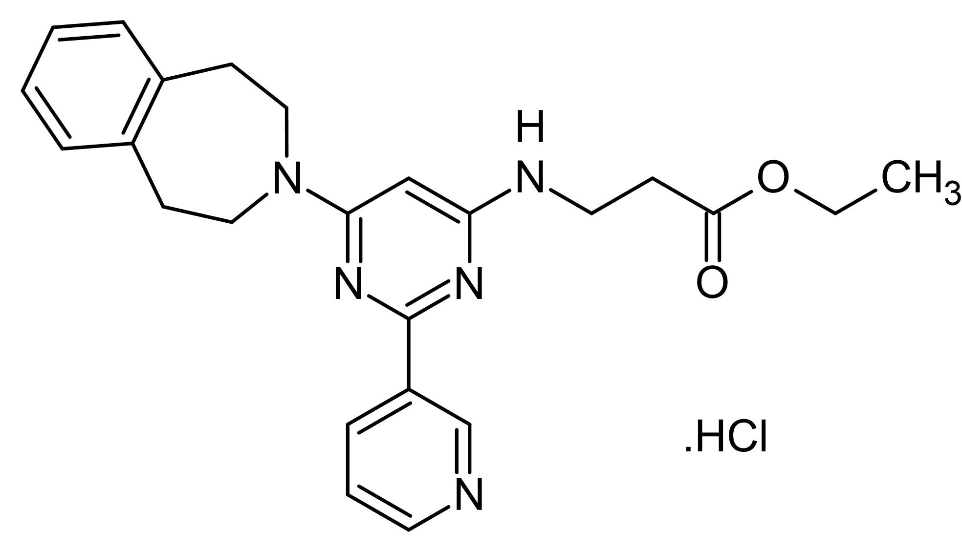 Chemical Structure - GSK-J5, Inactive control for GSK-J4 (ab144397)